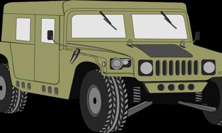 Le Hummer H1 a été transformé en camping car !