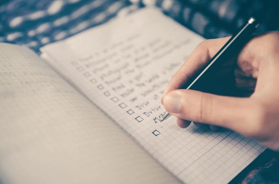 Voici une checklist pour vos prochain road trip !