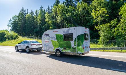 Dethleffs présente la caravane E.Home, une remorque de camping autoalimentée